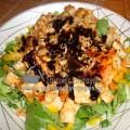 Πράσινη σαλάτα με κρέμα μπαλσάμικο