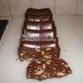 Κορμός σοκολάτας με φιστίκι Αιγίνης